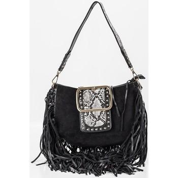 Taschen Damen Handtasche Alex Max BO008/A Noir