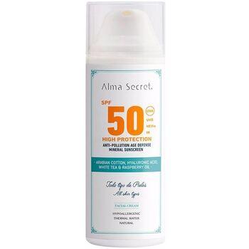 Beauty Sonnenschutz & Sonnenpflege Alma Secret High Protection Crema Facial Spf50