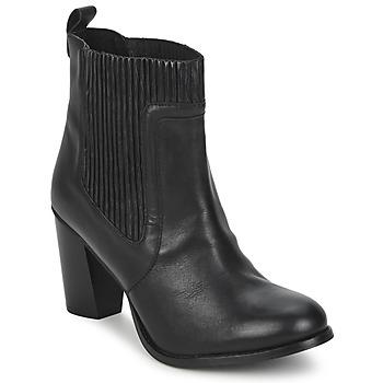 Schuhe Damen Low Boots Dune NATTIES Schwarz