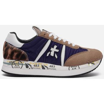 Schuhe Damen Sneaker Low Premiata CONNY 5496 blu