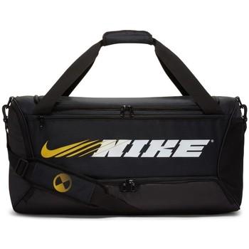 Taschen Sporttaschen Nike Brasilia Graphic Training Schwarz