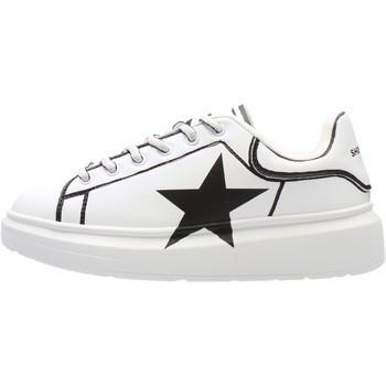 Schuhe Jungen Sneaker Low Shop Art - Sneaker bianco SAG80314 BIANCO