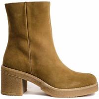 Schuhe Damen Low Boots Bryan 4700 Braun
