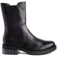 Schuhe Damen Stiefel Zap-In IB 2056 Schwarz