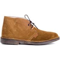Schuhe Herren Richelieu Colour Feet MOGAMBO WARM Braun
