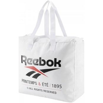 Taschen Damen Sporttaschen Reebok Sport CL Printemps Ete Weiß