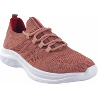Schuhe Damen Sneaker Low Sweden Kle Damenschuh  182288 lachs Rose