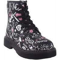 Schuhe Mädchen Boots Bubble Bobble Mädchenbeute  a3484 schwarz Schwarz