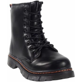 Schuhe Mädchen Boots Bubble Bobble BOBBLE a3156 schwarz Schwarz
