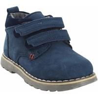 Schuhe Jungen Boots Bubble Bobble BOBBLE a2635 blau Blau