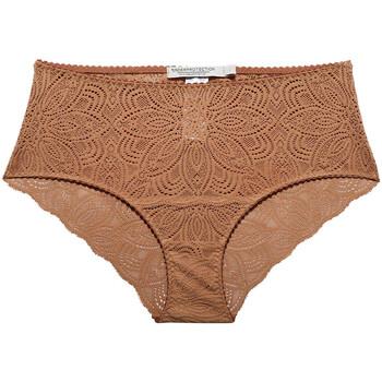 Unterwäsche Damen Damenslips Underprotection HD2032 CLY Braun