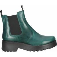 Schuhe Damen Boots Fly London Stiefelette Grün