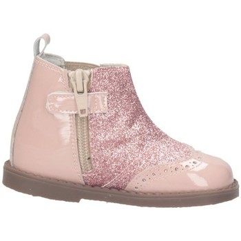Schuhe Mädchen Low Boots Andanines 172319-33 Beatles Kind Rose