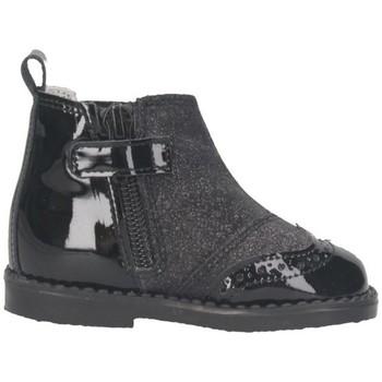 Schuhe Mädchen Low Boots Andanines 172319-33 Beatles Kind Schwarz