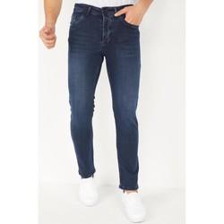 Kleidung Herren Slim Fit Jeans True Rise  Blau