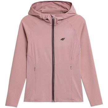 Kleidung Damen Sweatshirts 4F BLDF012 Rosa