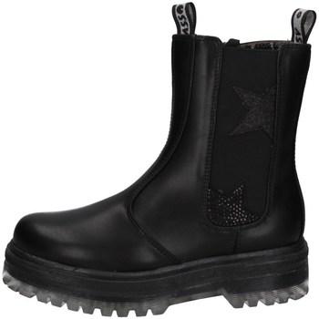 Schuhe Mädchen Low Boots Asso AG-12530 Schwarz