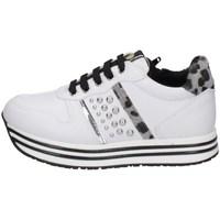 Schuhe Mädchen Sneaker Low Asso AG-12631 Weiss