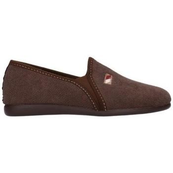 Schuhe Herren Hausschuhe Calzamur 277005002 MARRON Hombre Marron marron