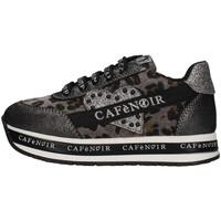 Schuhe Mädchen Sneaker Low Café Noir C-1491 Grau
