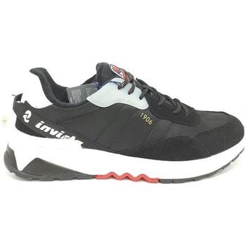 Schuhe Herren Sneaker Low Invicta  Schwarz