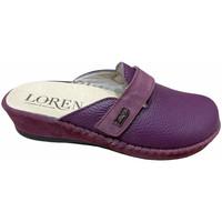 Schuhe Damen Pantoletten / Clogs Calzaturificio Loren LOM2893pru blu