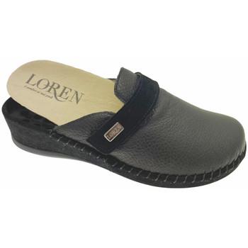 Schuhe Damen Pantoletten / Clogs Calzaturificio Loren LOM2893ne nero