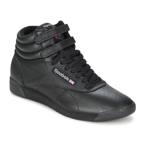 Reebok Classic FREESTYLE HI Schwarz  Schuhe Sneaker High Damen 89,95