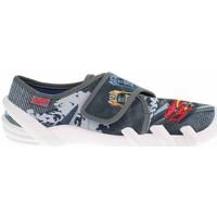 Schuhe Damen Hausschuhe Befado 273Y315 Grau