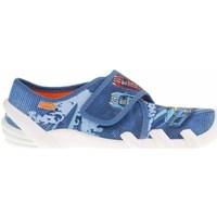 Schuhe Damen Hausschuhe Befado 273Y316 Blau