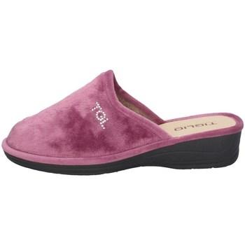 Schuhe Damen Hausschuhe Tiglio 1600 Rose
