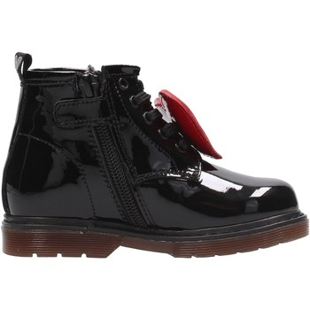 Schuhe Mädchen Boots Balducci - Polacchino nero MATR4867 ROSA
