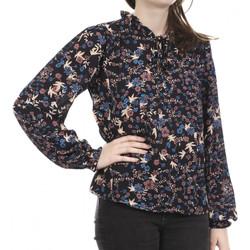 Kleidung Damen Langarmshirts Jacqueline De Yong 15238980 Schwarz