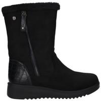 Schuhe Damen Stiefel Dangela-deity AJH 20377 Mujer Negro noir