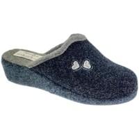 Schuhe Damen Hausschuhe Cristina CRICUORICINIblu blu