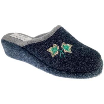 Schuhe Damen Hausschuhe Cristina CRIFOGLIAblu blu
