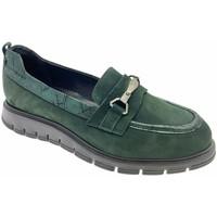 Schuhe Damen Slipper Donna Soft DOSODS1220ve verde