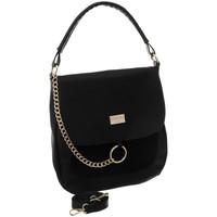 Taschen Damen Handtasche Badura 89640 Schwarz
