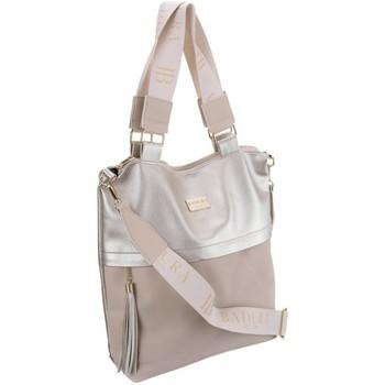 Taschen Damen Handtasche Badura 103930 Rosa