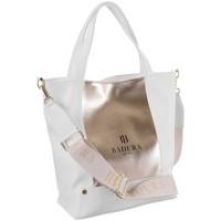 Taschen Damen Handtasche Badura 104110 Weiß