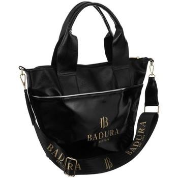 Taschen Damen Handtasche Badura 95470 Schwarz