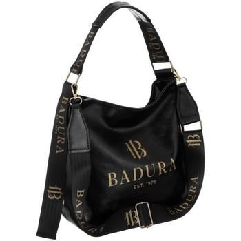 Taschen Damen Handtasche Badura 95460 Schwarz