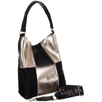 Taschen Damen Handtasche Badura 105990 Schwarz
