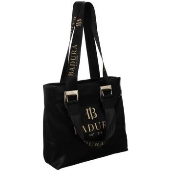 Taschen Damen Handtasche Badura 94630 Schwarz