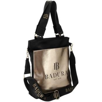 Taschen Damen Handtasche Badura 94620 Schwarz