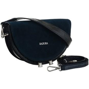 Taschen Damen Handtasche Badura 123930 Dunkelblau