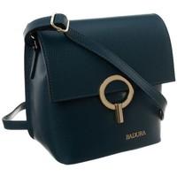 Taschen Damen Handtasche Badura 85070 Türkisfarbig