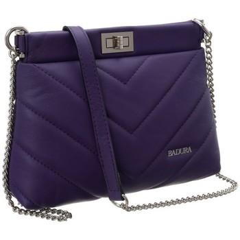 Taschen Damen Handtasche Badura 81640 Violett