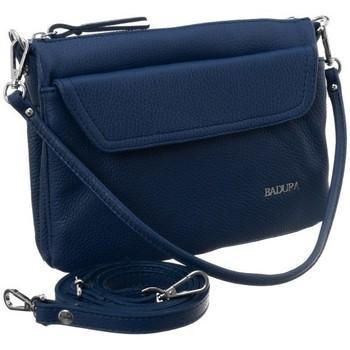Taschen Damen Handtasche Badura 84960 Dunkelblau