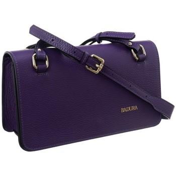 Taschen Damen Handtasche Badura 84140 Violett